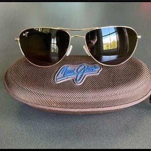 Maui Jim Sea House Gold Sunglasses